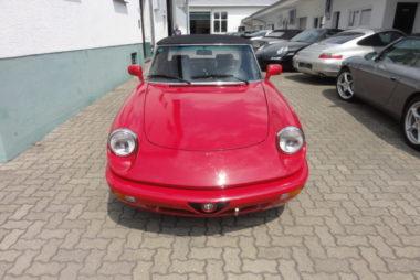 Automobile Genieser, Alfa Spider, Oldtimer, Liebhaberfahrzeug, Restauration, Bad Dürkheim, Vorderpfalz