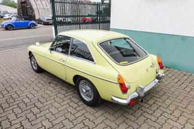 Automobile Genieser, MGB, MGT GT 11, Oldtimer, Liebhaberfahrzeug, Restauration, Bad Dürkheim, Vorderpfalz